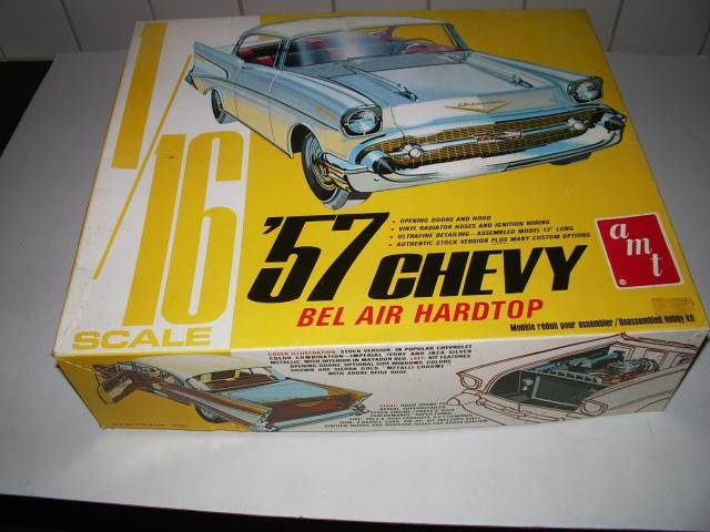chevrolet bel air hardtop 1957 de chez amt au 1/16 236503IMGP3045