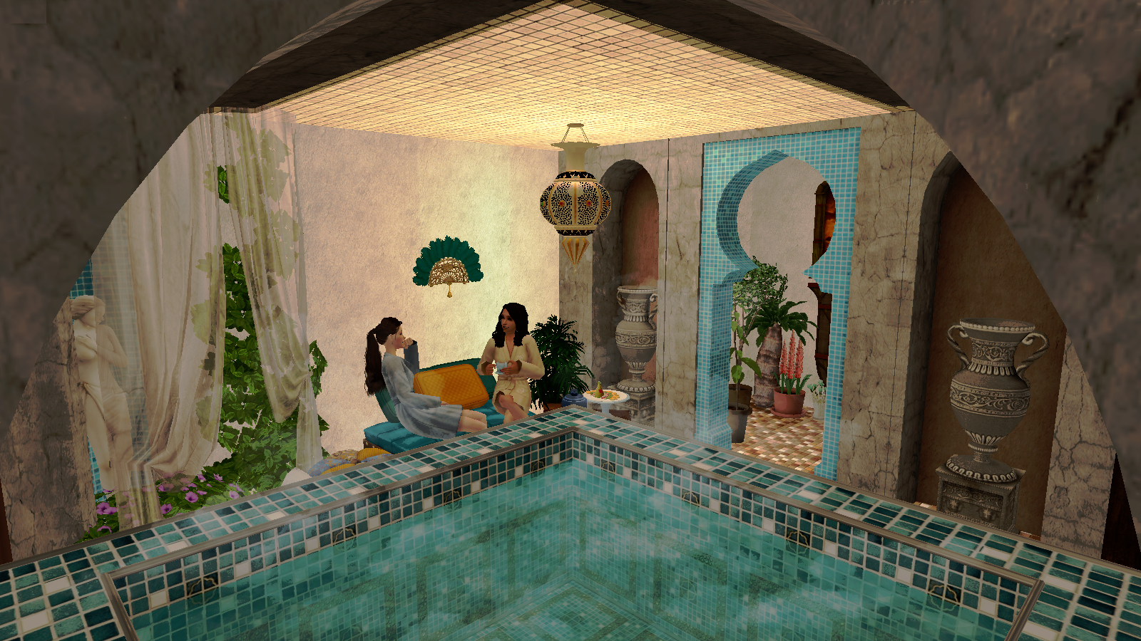 La grotte de Yaya : a SIMS 2 world 238029Animationcarte2final