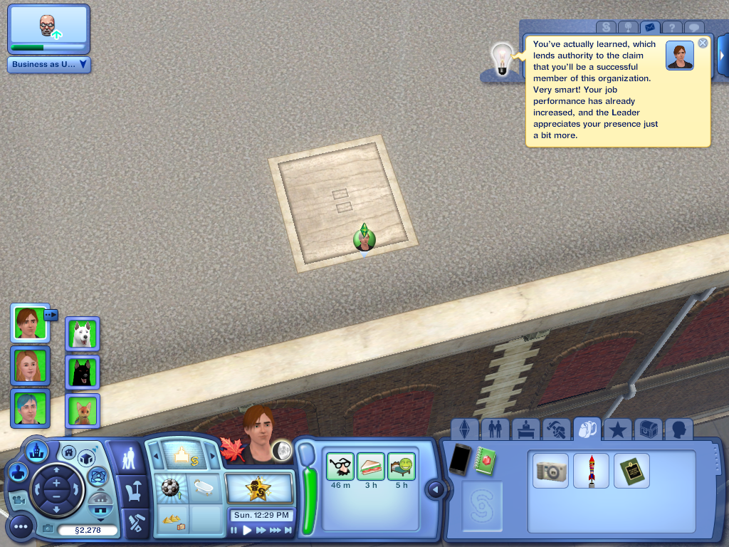 Les Sims ... Avec Kimy ! 238338StanestStan