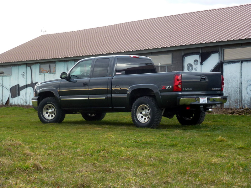 Chevrolet Silverado V8 5,3L 2003 238659P1040069