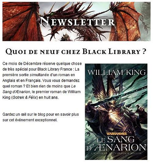 Le Sang d'Aenarion de William King 238915aenarion