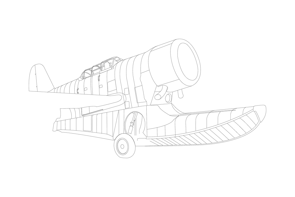 "Grumman J2F6 ""Duck"" 239324J2F6Vectofuselage1"