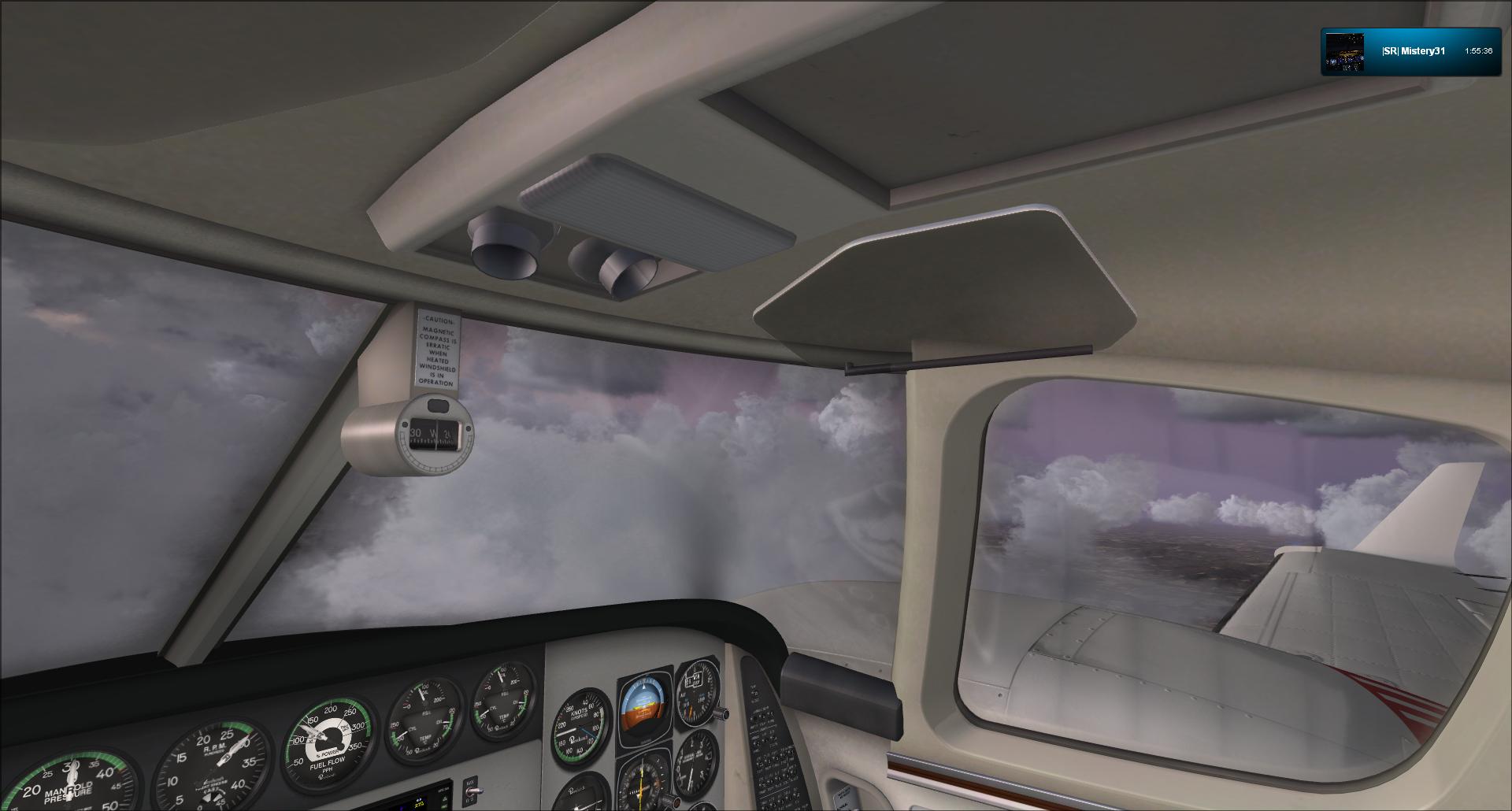 Vol VFR entre Bale et Clermont ferrand 23985920121125182257750