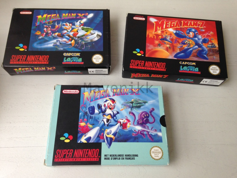 Maverikk is now collecting :) 240004megamans3