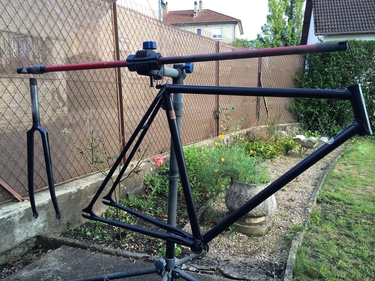 Vélo de piste Jean Marie Brun Tubes Columbus 240425IMG2437