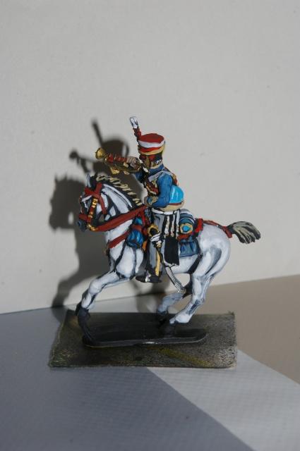 british hussar 28mm de perry miniature  241090trumpeter003
