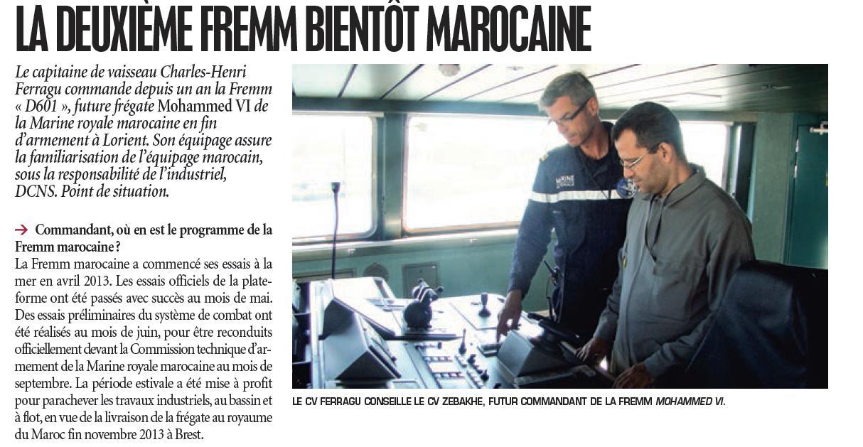 FREMM Marocaine / Royal Moroccan Navy FREMM Frigate - Page 39 24145012ee