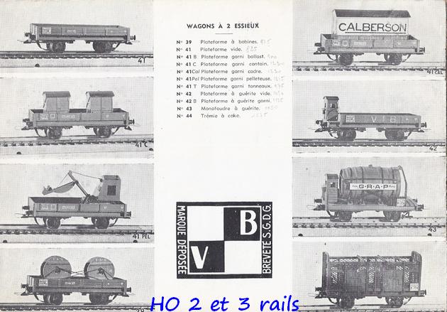 Catalogues 1950 et 1954 couverture photo (extraits) 241510VBcatalogue19544R
