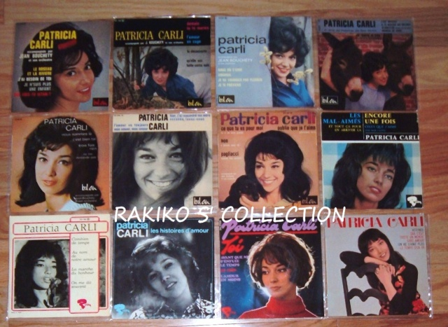 Rakiko  s' music collection  45 rpm & 33 rpm and more 242957CarliFrenchEP