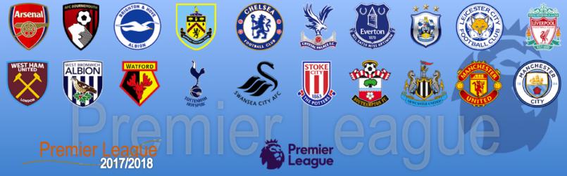 Angleterre - Barclays Premier League 2017 / 2018 244787englishmanrcscPremierLeague