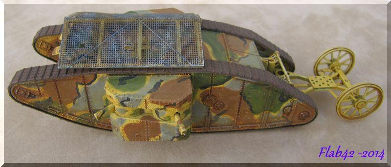 "MK I ""Female"" British tank - Bataille de la Somme 1916 - Master Box LTD - 1/72ème 244794fini4"