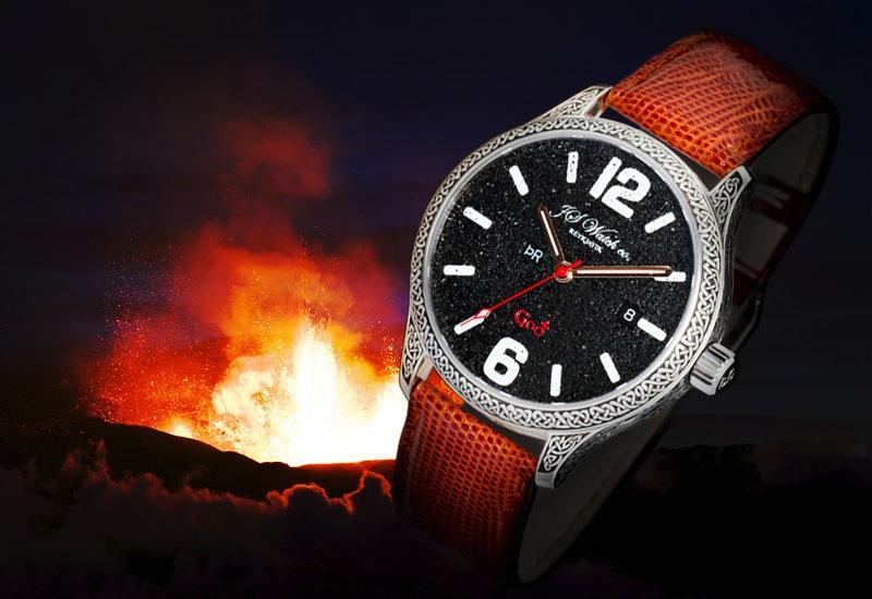 J S Watch company REYKJAVIK 246215godeldfjall