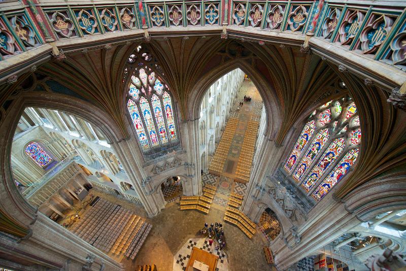 Concert à la cathédrale de Ely (UK) le samedi 29 avril 2017 246368ElyCathedralfromAbove2