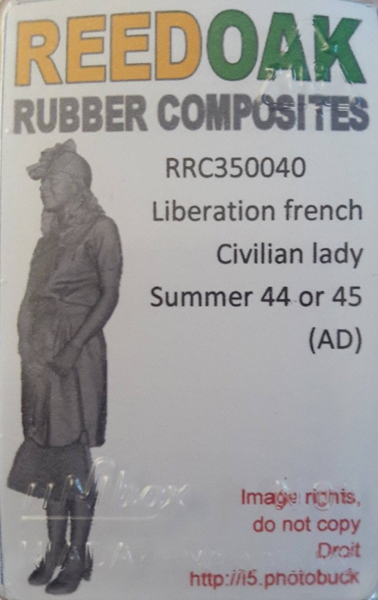 Tiger I Late production - Normandie 1944 - Dragon - 1/35 246449FrenchGirl