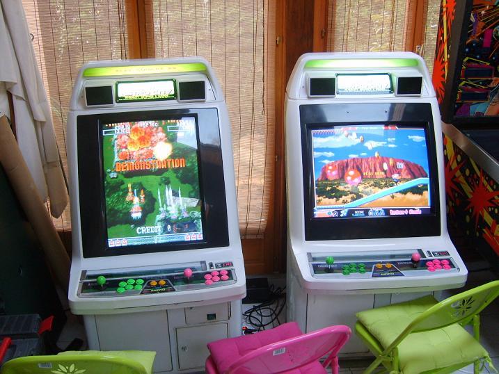 borne arcade astro city