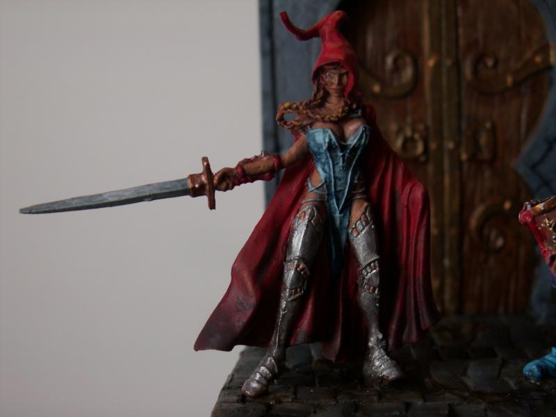 Isabeau la secréte et son porte épée. Marque Rackham 28 Mm 247351PICT0022