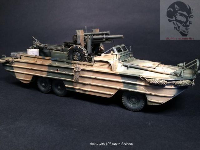 Duck gmc,avec canon de 105mn,a Saipan - Page 2 248030IMG4480