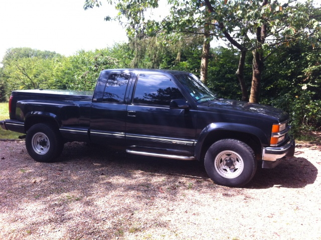Chevrolet pick up silverado 1995 5 places diesel                   4900€ - Page 2 248481IMG1266