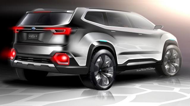 Subaru a dévoilé le concept VIZIV-7 SUV au salon Los Angeles 2016  249122galleryphoto12
