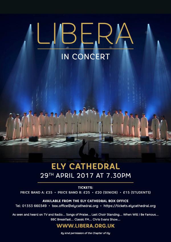 Concert à la cathédrale de Ely (UK) le samedi 29 avril 2017 250038ElyPostersmall