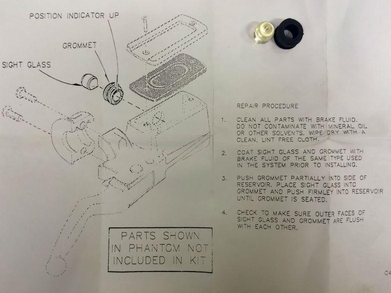 Maitre Cylindre frein avant sportster 1992 250715Pourfofo