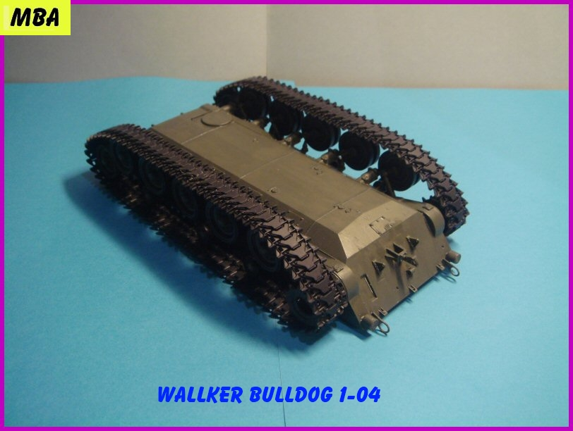Le M41A3 light tank Wallker Bulldog au 1/35ème AFV club 250918WalterBulldog104