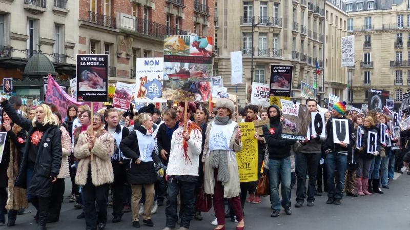 13 - Marche Contre La Fourrure - Paris 24 novembre 2012. 252666P1010563