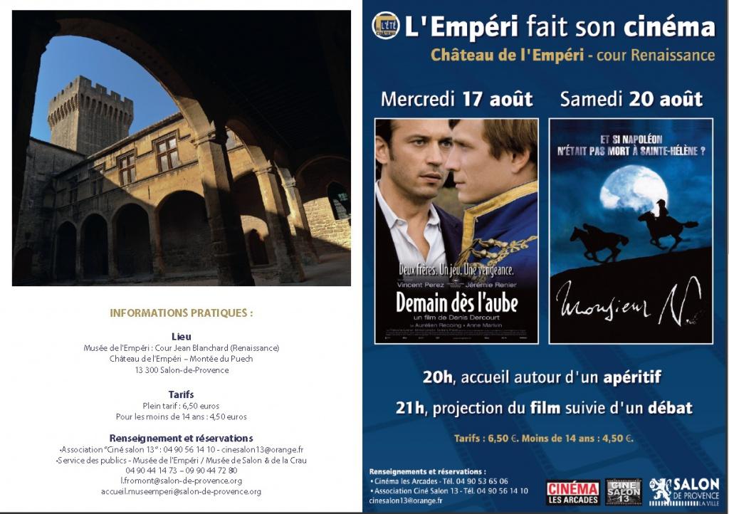 Cinéma Historique et Impérial au Musée de l'Empéri 253729chateaucin2016