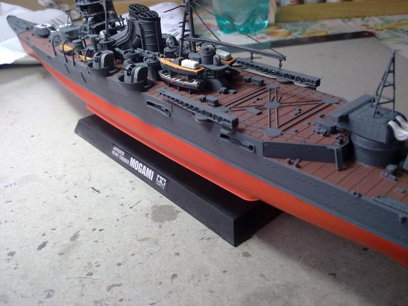 croiseur lourd Mogami au 1/350 par Pascal 94 - Tamiya  - Page 6 256757040120111050