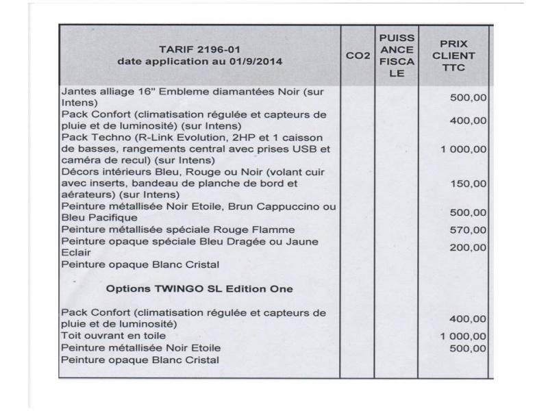 Tarif de la Twingo 3 257497Diapositive3