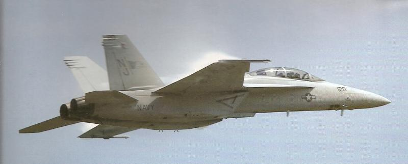 BOEING F/A-18E et F SUPER HORNET  259455BoeingF18SuperHornetconfigurationlisse