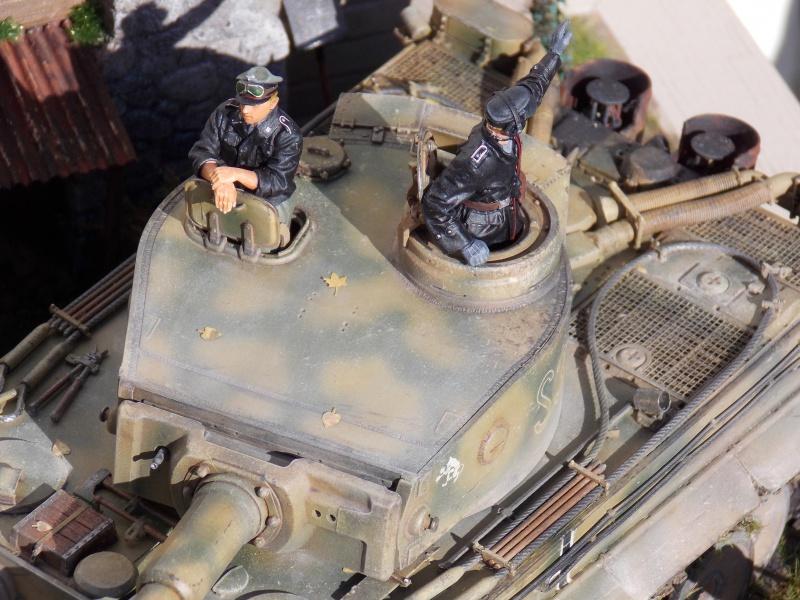 TIGRE S33  avant la bataille de Koursk juillet 43 (Dragon 1/35 dio DIODUMP) - Page 10 260297DSCN4808