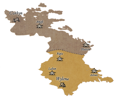 Le Royaume de Celegard 261299CELEZonesG