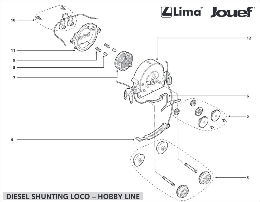 Bricolage d'un locotracteur... 261468LimaLocoHJ1000