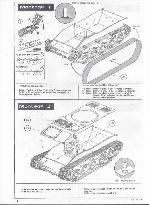 AMX 13 canon de 75 - (Réf. L784) 1/35 261513AMX1375784009Heller135