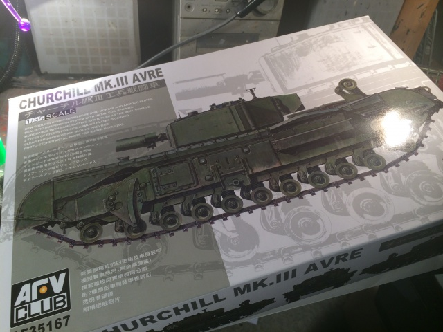 Churchill avre mk3  de chez afv club 1/35 263061002