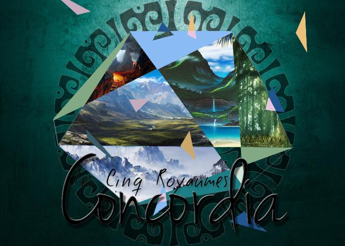 Concordia, les Cinq Royaumes | test