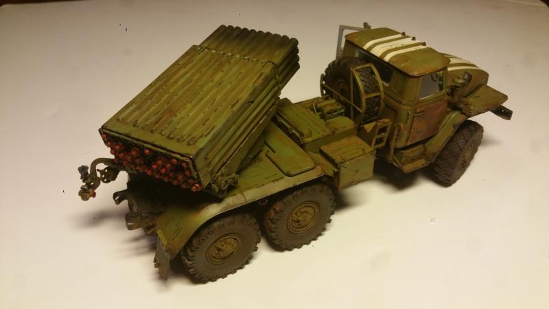 BM-21 GRAD 1/35 TRUMPETER 26491420161111210824