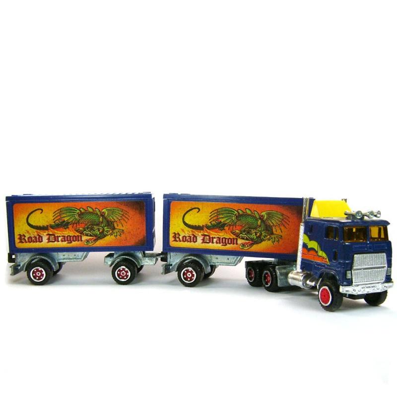 N°607 Ford + Semi Bi-Train Container 265102714