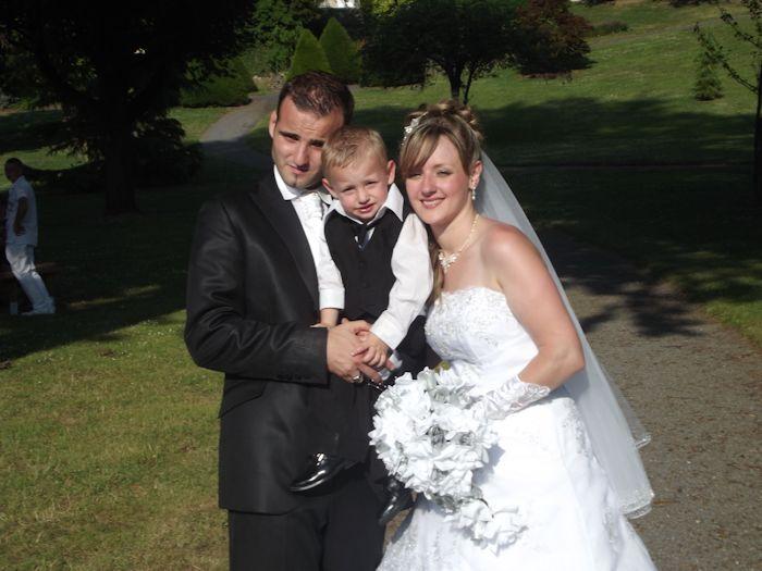 mariage de mon filleul benjamin avec cindy  2661976469