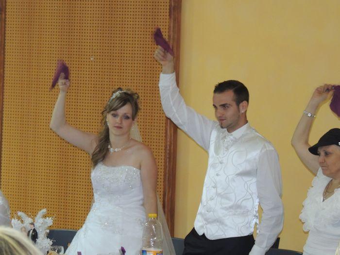 mariage de mon filleul benjamin avec cindy  2662615575