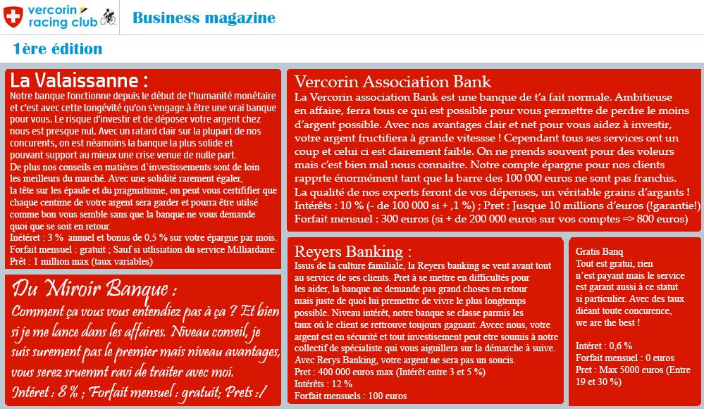 [******] Vercorin Racing Club : The Legend of cyclism 266855Businessmagazineed1