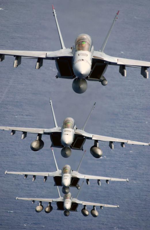 BOEING F/A-18E et F SUPER HORNET  267216BoeingF18SuperHornetvolgroup