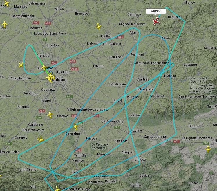 Vol d'essai de l'A350 268798aib350
