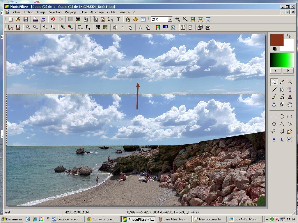 Exemple de retouche avec Photofiltre 269649ECRAN3