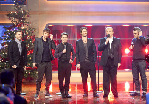 "Take That on ""Hapes zauberhafte Weihnachten"" 17-12-10 270285imagecfm3vi"