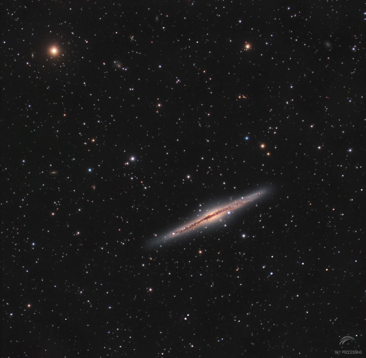 Galaxie Ngc891 au C8 Edge f/7 Atik4000 270561Ngc891Saturweba