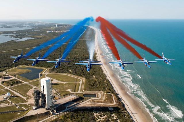 La Patrouille de France survole Cap Canaveral 275409pafusa9
