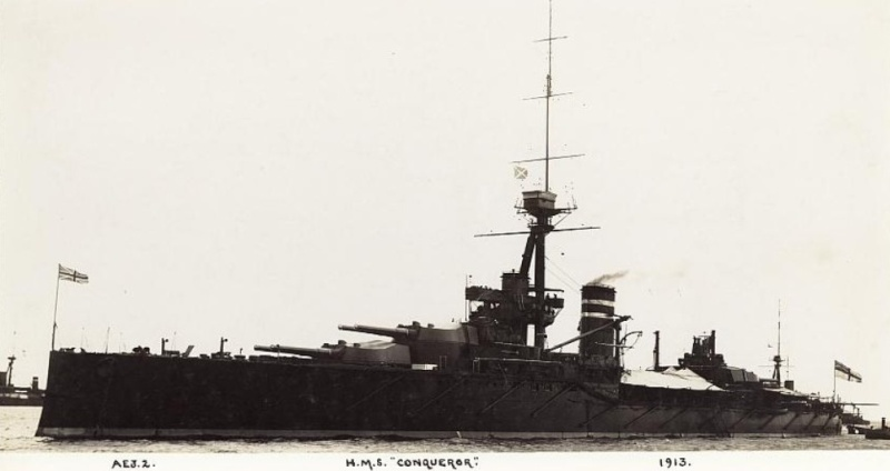 ROYAL NAVY CUIRASSES CLASSE KING GEORGE V (1910) 277322HMSConqueror3