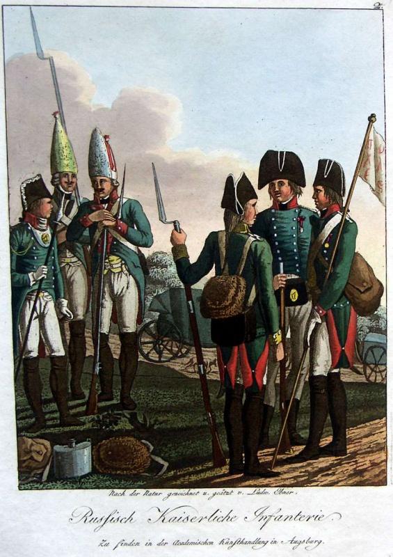 l'armée Russe durant la Révolution FRançaise 277922AugsburgerTafel75
